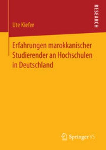 eBook Erfahrungen marokkanischer Studierender an Hochschulen in Deutschland Cover