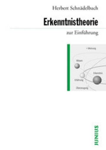 eBook Erkenntnistheorie zur Einführung Cover