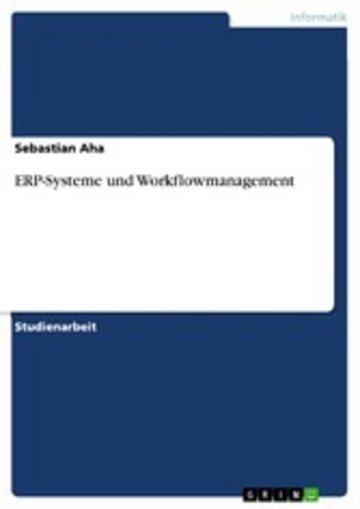 eBook ERP-Systeme und Workflowmanagement Cover
