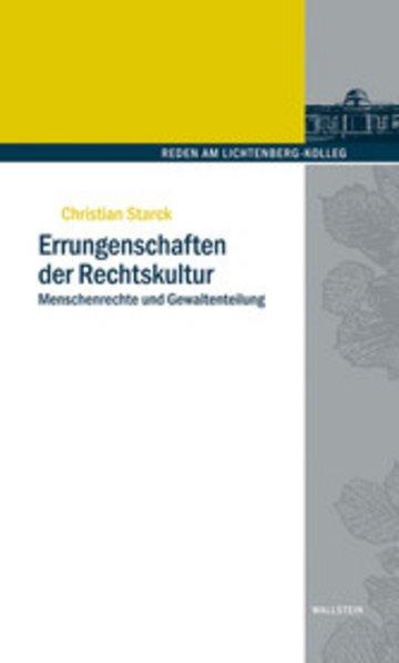 eBook Errungenschaften der Rechtskultur Cover