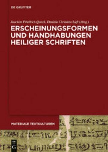 eBook Erscheinungsformen und Handhabungen Heiliger Schriften Cover