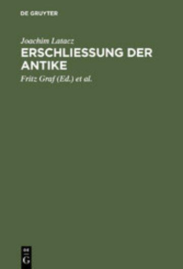 eBook Erschliessung der Antike Cover