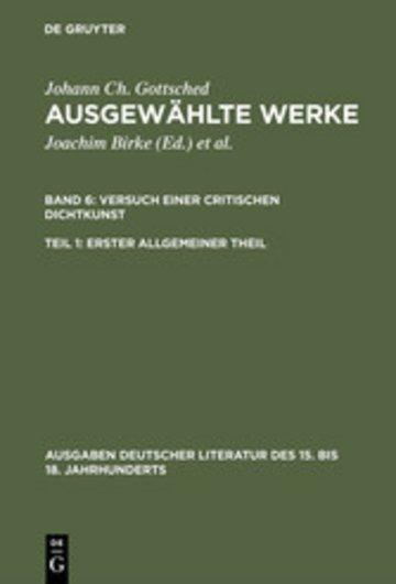 eBook Erster allgemeiner Theil Cover