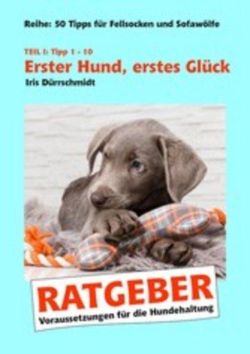 eBook Erster Hund, erstes Glück Cover