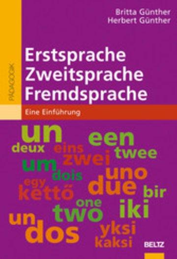 eBook Erstsprache, Zweitsprache, Fremdsprache Cover