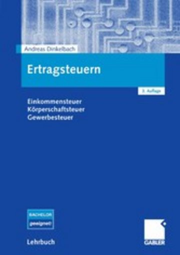eBook Ertragsteuern Cover