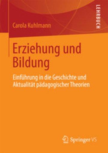 eBook Erziehung und Bildung Cover
