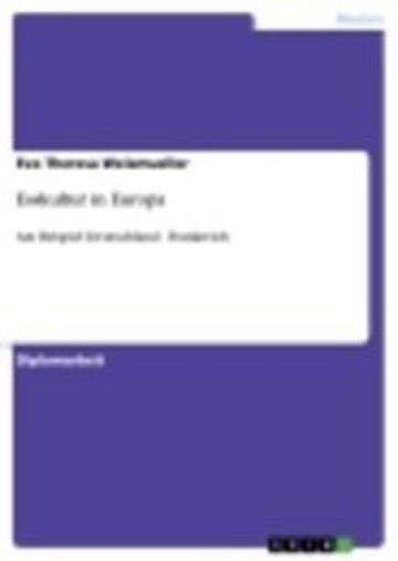 eBook Esskultur in Europa Cover