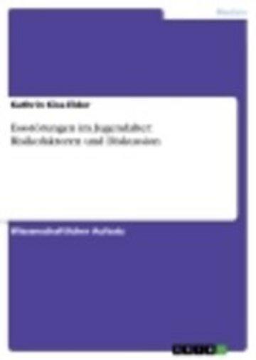 eBook Essstörungen im Jugendalter: Risikofaktoren und Diskussion Cover