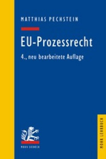 eBook EU-Prozessrecht Cover