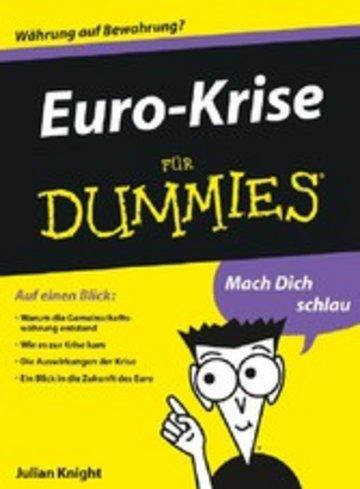 eBook Euro-Krise für Dummies Cover