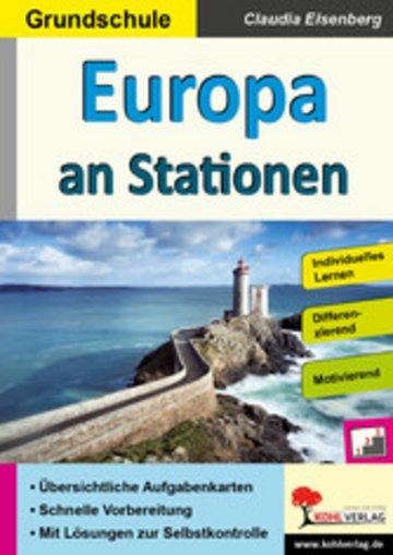 eBook Europa an Stationen / Grundschule Cover