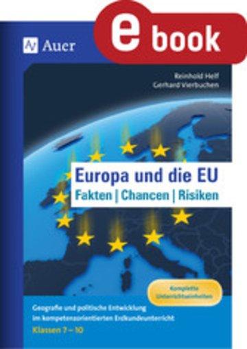 eBook Europa und die EU - Fakten, Chancen, Risiken Cover