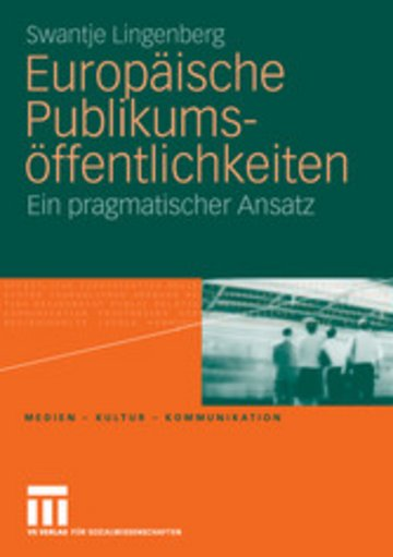 eBook Europäische Publikumsöffentlichkeiten Cover