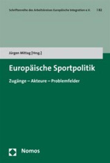 eBook Europäische Sportpolitik Cover