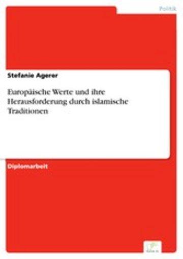 eBook Europäische Werte und ihre Herausforderung durch islamische Traditionen Cover
