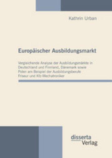 eBook Europäischer Ausbildungsmarkt Cover