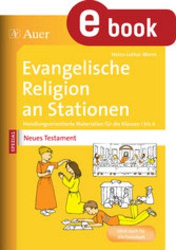 eBook Ev. Religion an Stationen Spezial Neues Testament Cover