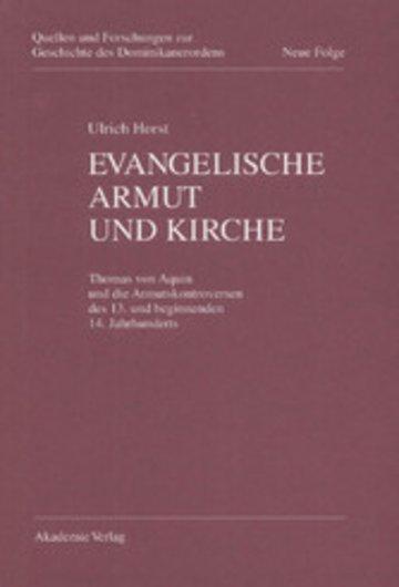eBook Evangelische Armut und Kirche Cover
