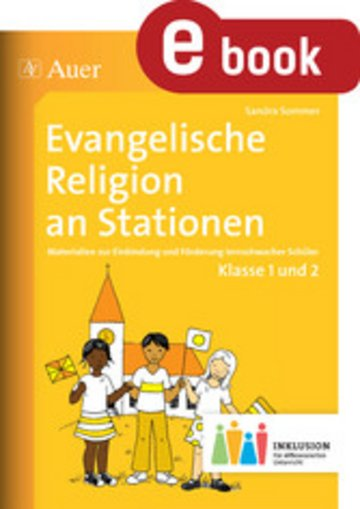 eBook Evangelische Religion an Stationen 1-2 Inklusion Cover