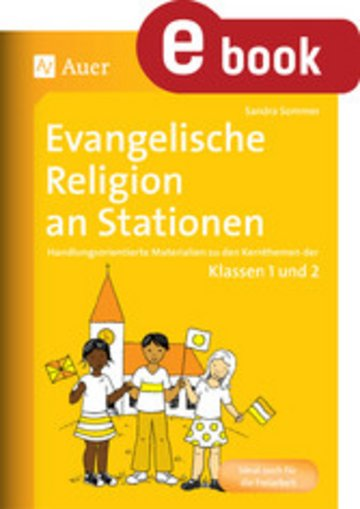 eBook Evangelische Religion an Stationen Cover
