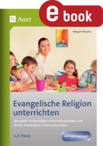 eBook Evangelische Religion unterrichten - Klasse 1+2 Cover