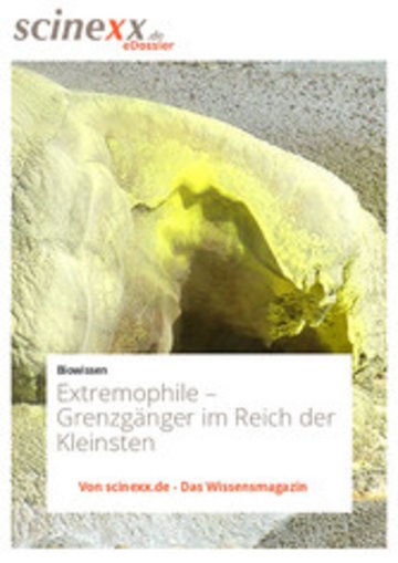 eBook Extremophile Cover