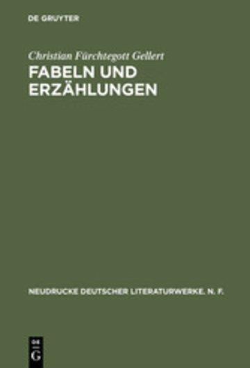 eBook Fabeln und Erzählungen Cover