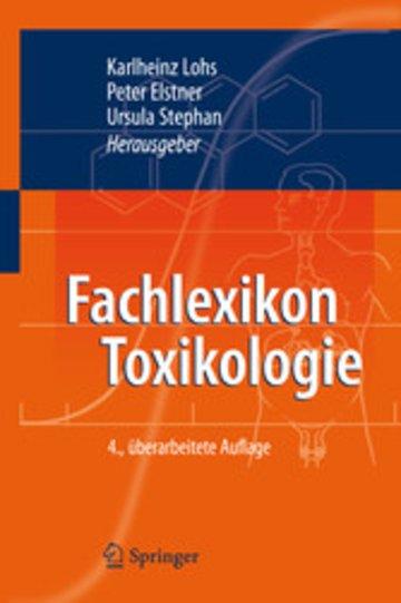 eBook Fachlexikon Toxikologie Cover