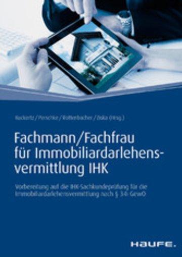 eBook Fachmann/Fachfrau für Immobiliardarlehensvermittlung IHK Cover