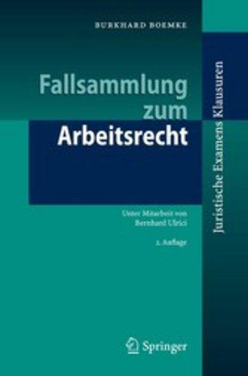 eBook Fallsammlung zum Arbeitsrecht Cover