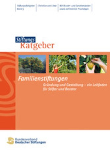 eBook Familienstiftungen Cover
