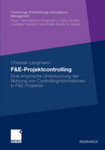 eBook F&E-Projektcontrolling Cover