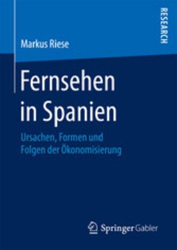 eBook Fernsehen in Spanien Cover