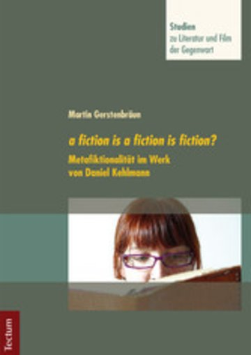 eBook a fiction is a fiction is fiction? Cover