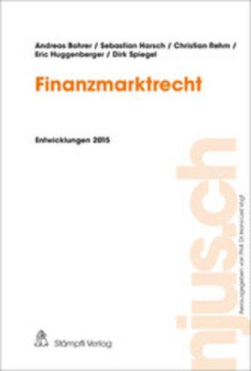 eBook Finanzmarktrecht Cover