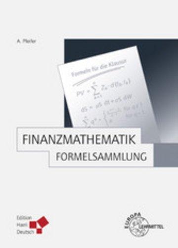 eBook Finanzmathematik - Formelsammlung (Pfeifer) Cover