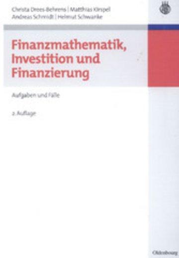 eBook Finanzmathematik, Investition und Finanzierung Cover