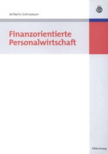 eBook Finanzorientierte Personalwirtschaft Cover