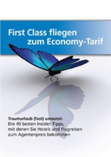 eBook First-Class fliegen zum Economy-Tarif Cover