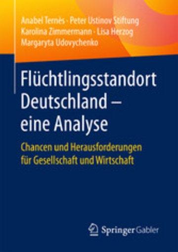 eBook Flüchtlingsstandort Deutschland - eine Analyse Cover