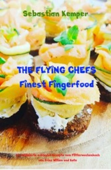 eBook THE FLYING CHEFS Finest Fingerfood Cover