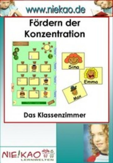 eBook Fördern der Konzentration - Das Klassenzimmer Cover
