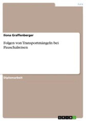 eBook Folgen von Transportmängeln bei Pauschalreisen Cover