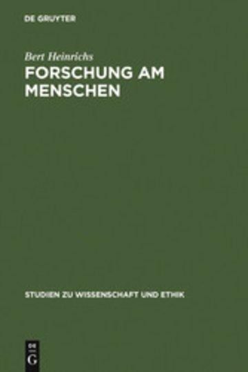 eBook Forschung am Menschen Cover