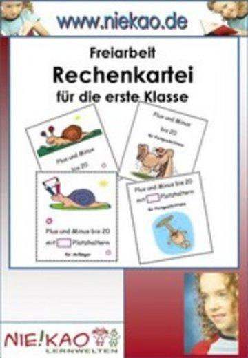 eBook Freiarbeit - Rechenfertigkeit mit Erfolg trainieren Kl. 1 Cover