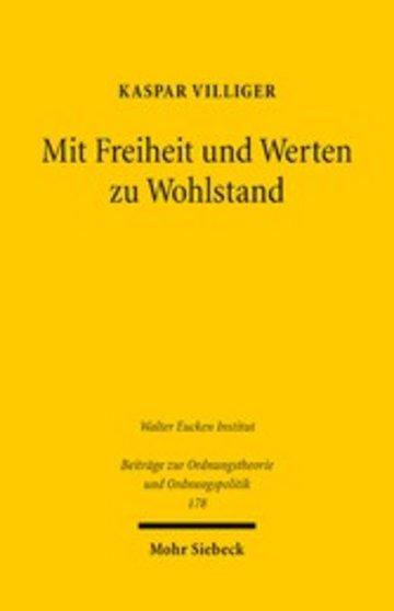 eBook Mit Freiheit und Werten zu Wohlstand Cover