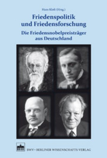 eBook Friedenspolitik und Friedensforschung Cover
