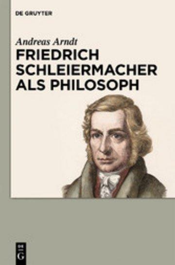 eBook Friedrich Schleiermacher als Philosoph Cover