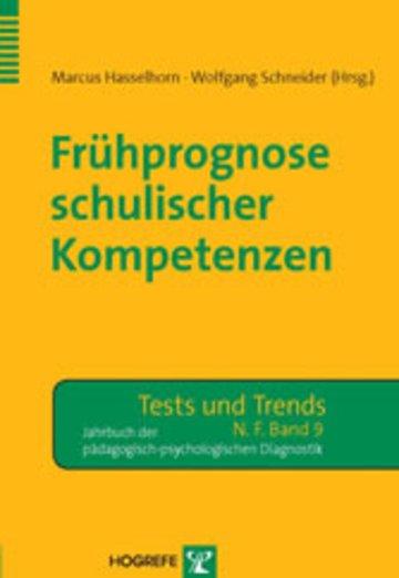 eBook Frühprognose schulischer Kompetenzen Cover